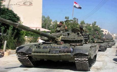 Quân đội Syria đánh thiệt hại nặng IS, Al-Nusra ở Aleppo, Deir Ezzor