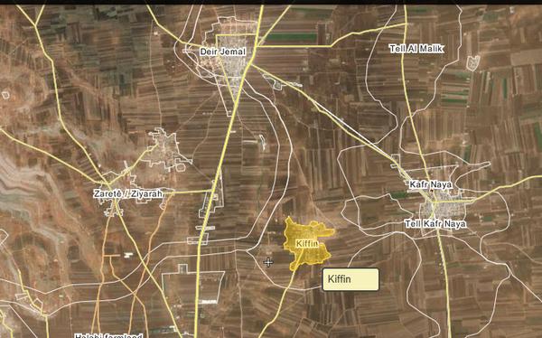Lữ đoàn 154 và Hezbollah giành được làng Kiffeen, Bắc Aleppo