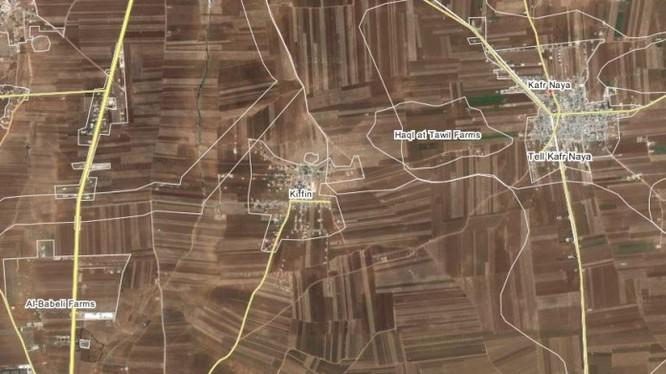 Quân đội Syria tấn công làng Kiffeen, miền Bắc Aleppo
