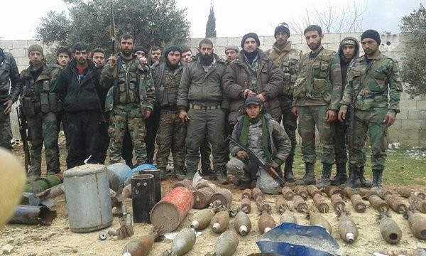 Lực lượng Tiger đánh chiếm làng Tal Barlihiyah Đông Aleppo
