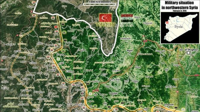 Chiến trường Latakia ngày 08.02.2016