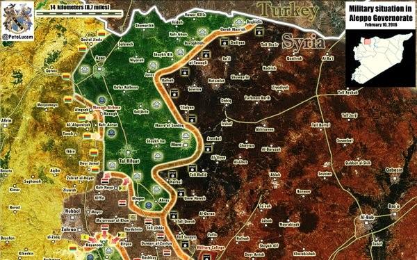 Quân đội Syria đánh chiếm làng Kafr Naya, hướng tới thành phố Azaz Bắc Aleppo