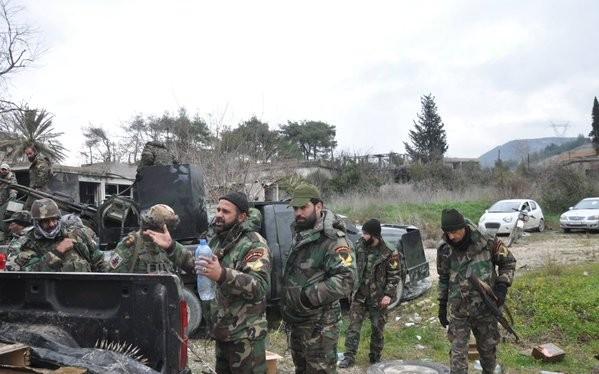 Lữ đoàn 103 chuẩn bị chiến trường cho trận chiến giành Kinsibba