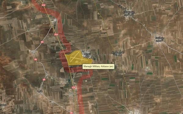 Lực lượng dân quân người Kurd giành được sân bay quân sự Menagh