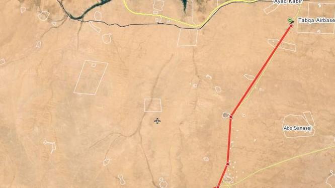 Quân đội Syria mở hướng tấn công về sân bay quân sự Tabaqa, Hama