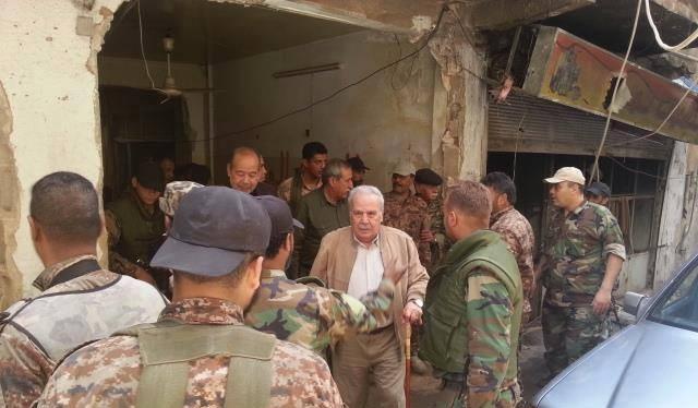 Quân Giải phóng Palestine tấn công Nam Damascus
