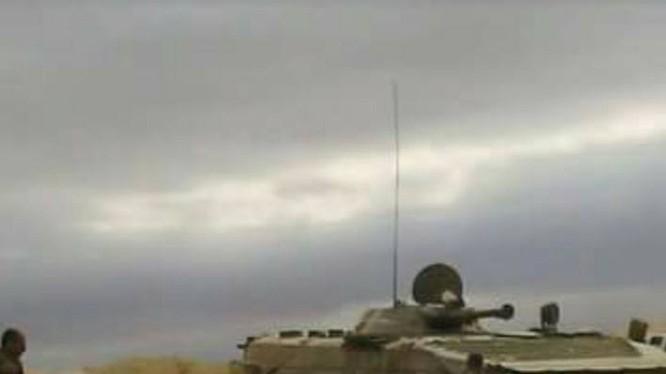 Quân đội Syria quyết liệt đóng cửa biên giới Jordan