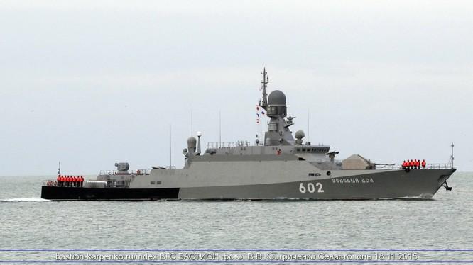 Vì mục đích gì khinh hạm tên lửa Zelenyi Dol đến Syria?