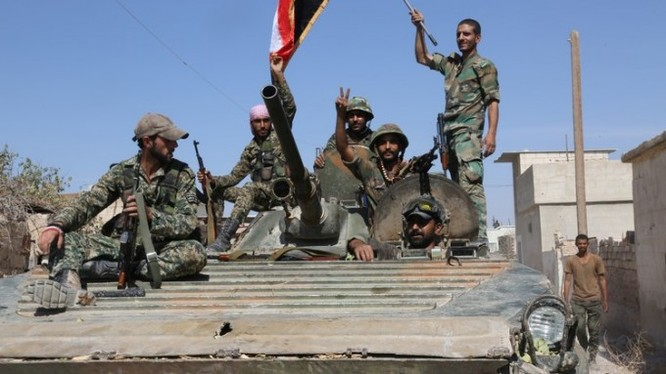 Quân đội Syria đánh chiếm một cao điểm chiến lược ở tỉnh Homs