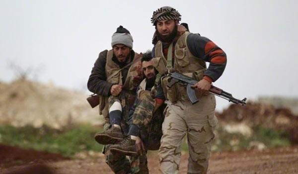 Video: Cận cảnh chiến binh FSA trúng thương nằm la liệt ở Aleppo