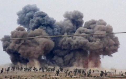 Không quân Nga không kích dữ dội IS ở Raqqa