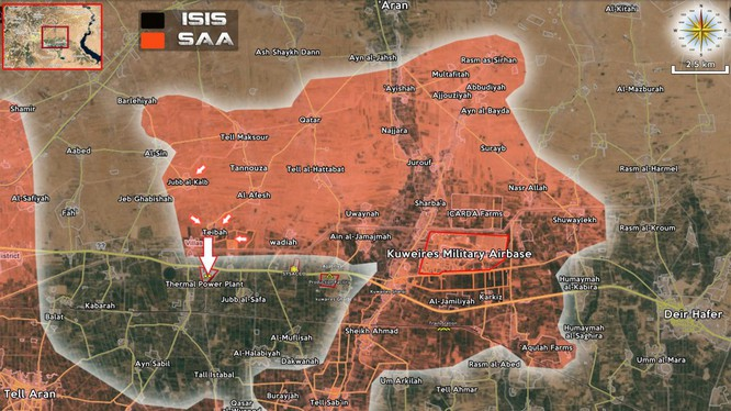 Lực lượng đặc biệt tinh nhuệ Tigers chiếm Nhà máy nhiệt điện Aleppo