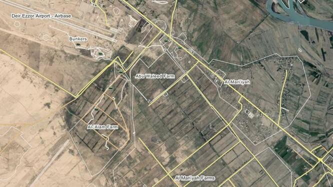 Quân đội Syria phản công tại sân bay quân sự Deiz Ez Zor