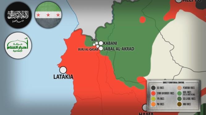 Quân đội Syria giải phóng Kinsibba, hướng tới Kabani ở Bắc Latakia