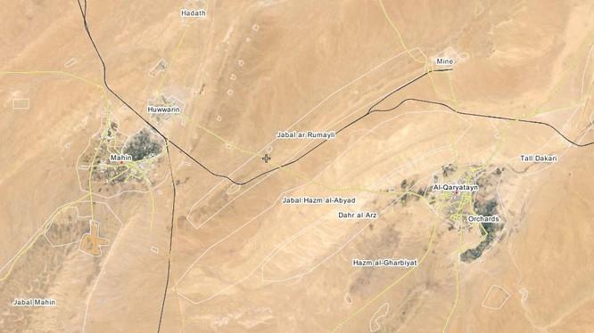 Quân đội Syria đánh bại cuộc phản kích ở thị trấn Maheen