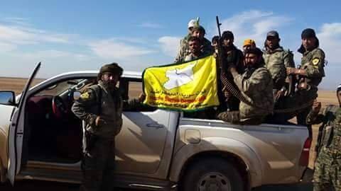 Lực lượng SDF đánh chiếm thành phố Al-Shadadi