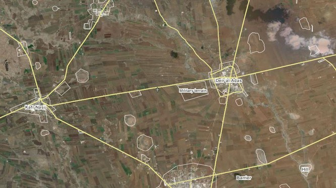 FSA phản kích thất bại ở Tam giác Daraa
