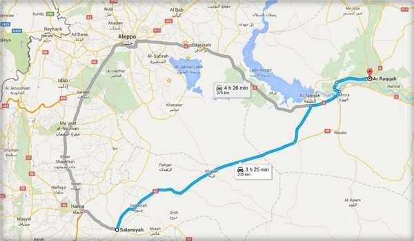 Tuyến đường sinh tử Salamiyah-Raqqa đến sào huyệt của IS