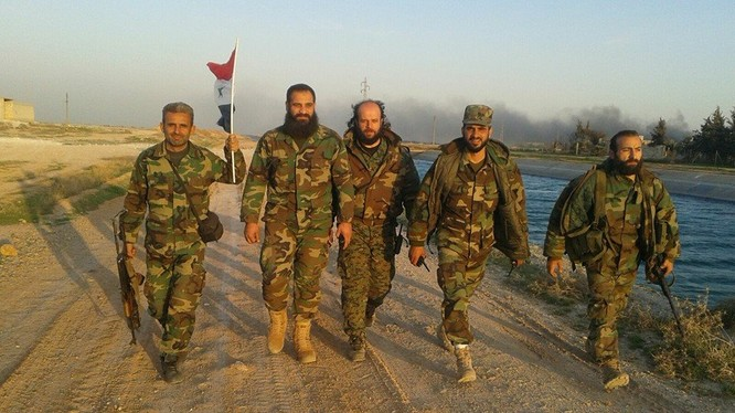 Lực lượng Tigers hoàn thành chiến dịch Nhà máy nhiệt điện Aleppo