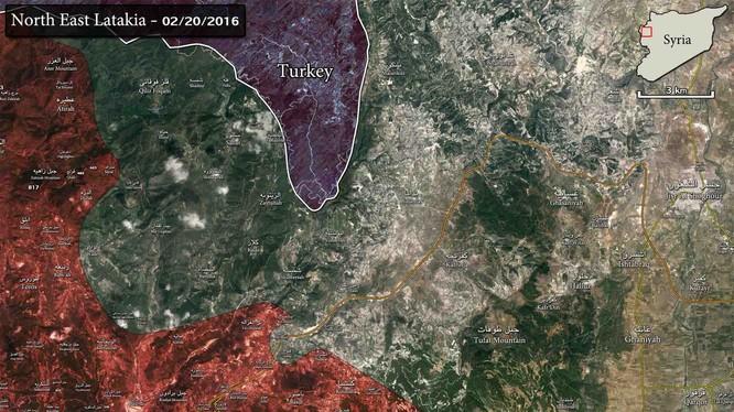 Quân đội Syria nỗ lực đóng cửa biên giới Thổ Nhĩ Kỳ, chuẩn bị tấn công tỉnh Idlib