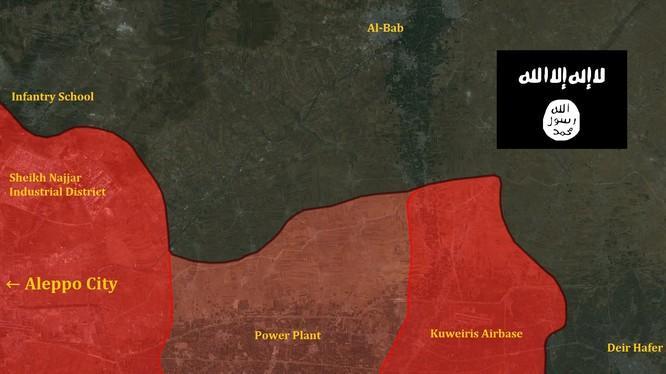 Quân đội Syria tấn công về Raqqa, IS đối mặt với sự sụp đổ