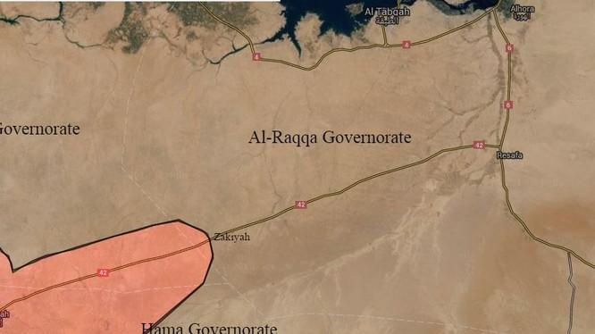 Chiến cuộc tỉnh Al-Raqqa, cuộc chiến gian nan chống IS