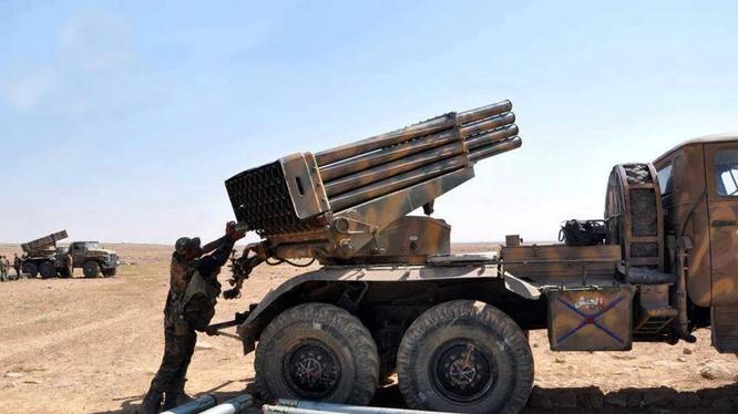 Không quân Syria tiêu diệt hàng chục tay súng cực đoan của tổ chức Jaish al-Fateh