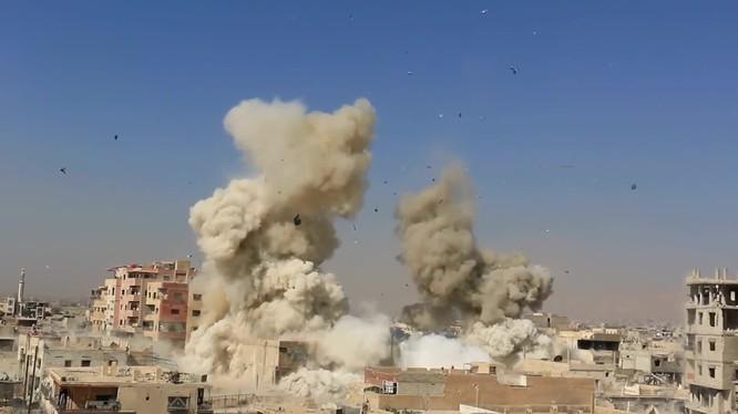 Đặc nhiệm Syria tấn công Darayya, diệt hàng chục tay súng khủng bố