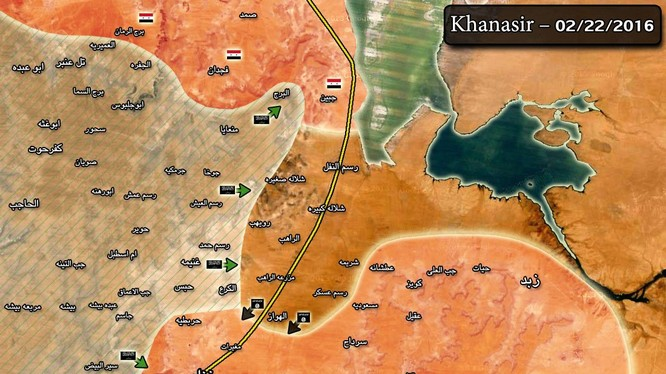 Tuyến đường Khanasser-Ithriyah