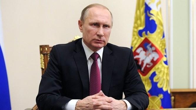 Tổng thống Nga Vladimir Putin tuyên bố: tiếp tục tiêu diệt khủng bố