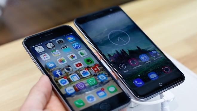 ZTE ra điện thoại giống hệt iPhone 6