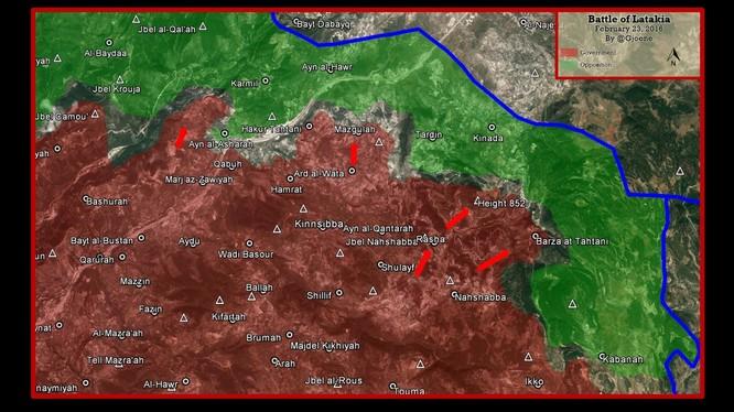 Quân đội Syria hướng mũi nhọn tấn công về tỉnh Idlib