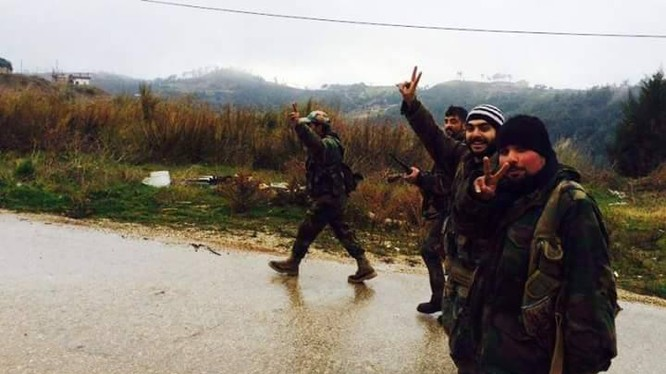 Lữ đoàn biệt kích 103 đánh chiếm làng Ayn Al-Ghazal, Đông Bắc Latakia