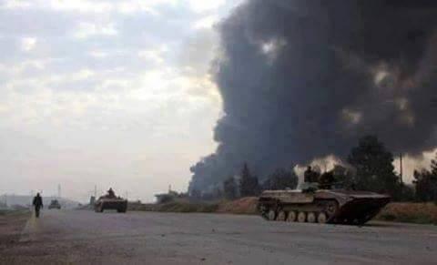 Lực lượng Tigers giành lại thành phố Khanasser phía đông nam Hama