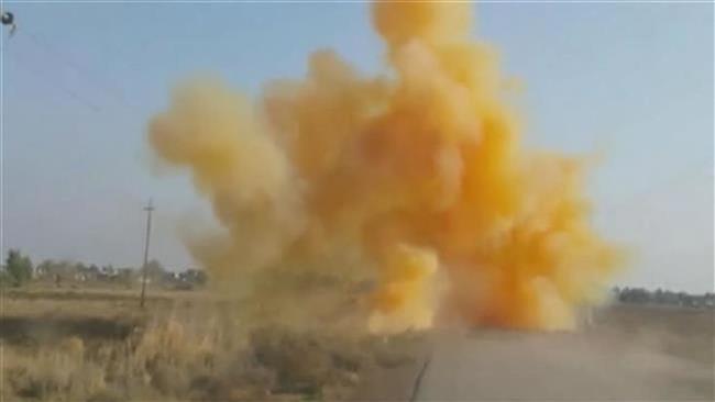 Sốc: IS sử dụng vũ khí hóa học tấn công thị trấn Sinjar ở Iraq