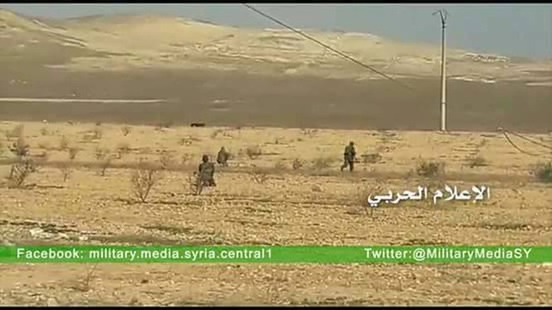 Lực lượng Tigers giải phóng hoàn toàn tuyến đường quốc lộ Khanasser-Aleppo
