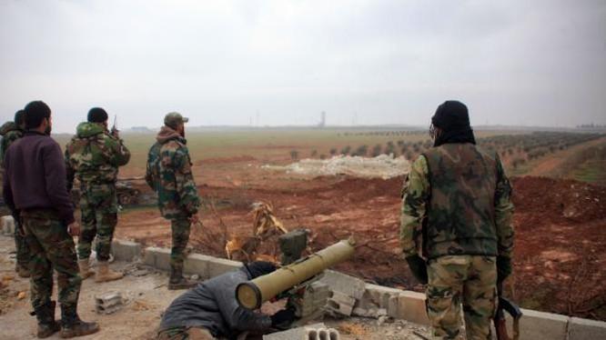 Video: Các chiến binh Hezbollah diệt nhiều tay súng Al-Nusra