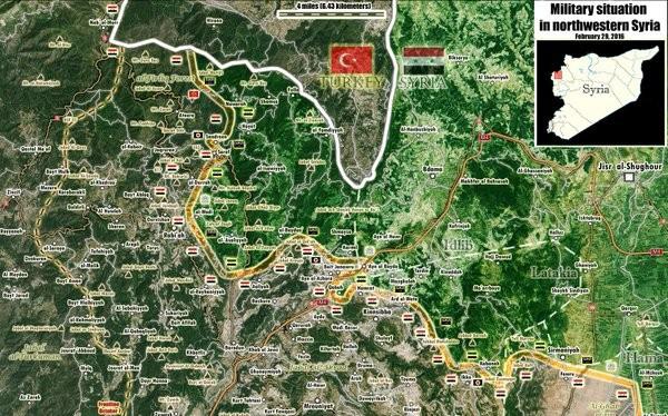 Còn 7 km chiến đấu tiến công, quân đội Syria sẽ đóng cửa biên giới Thổ Nhĩ Kỳ - Latakia