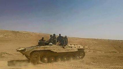 Quân đội Syria đánh chiếm 8 cao điểm gần thành phố Palmyra