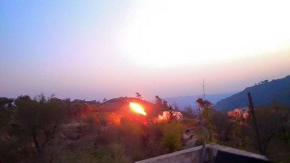Lữ đoàn 103 triển khai trận tấn công cuối cùng vào làng Kabani, Đông Bắc Latakia