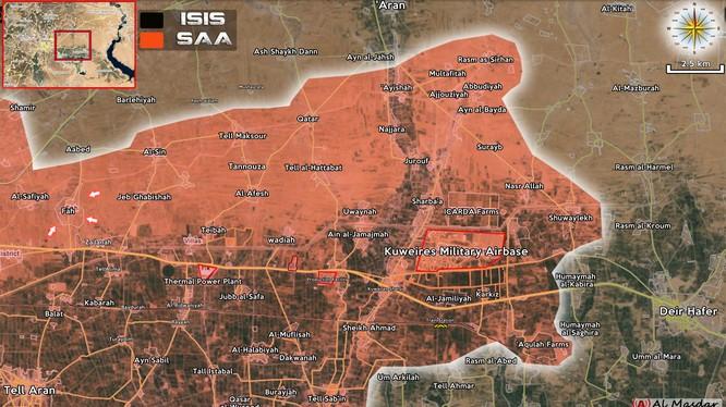 Quân đội Syria đánh bật IS khỏi làng Fah, Đông Aleppo