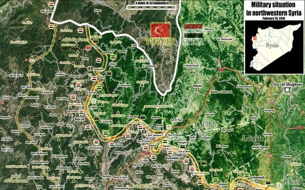 Thủ lĩnh cao cấp tổ chức Harakat Ahrar Al-Sham bị diệt ở Latakia