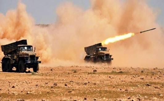 Quân đội Syria tấn công ngọn đồi khống chế thành phố cổ Qaryatayn, Homs
