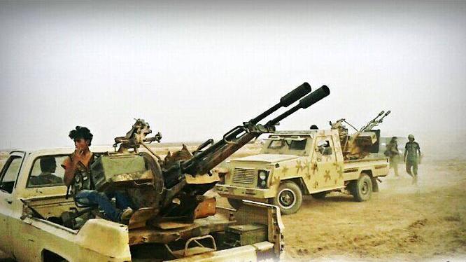 IS tiếp tục tấn công ở thành phố Deir Ezzor, nhiều tay súng thiệt mạng