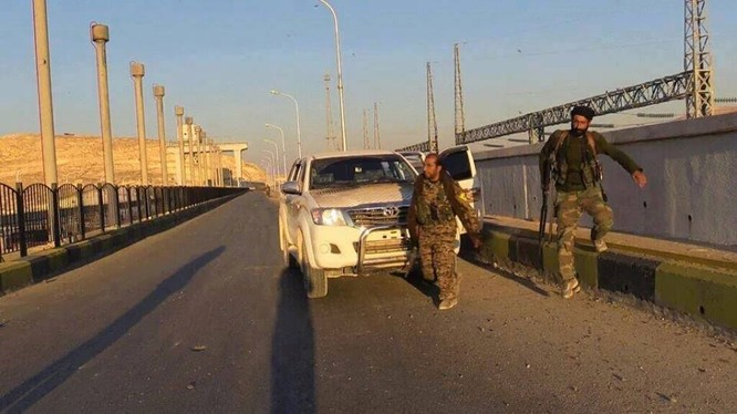 Lực lượng Dân chủ Syria SDF đánh chiếm hai làng ở Al-Raqqa