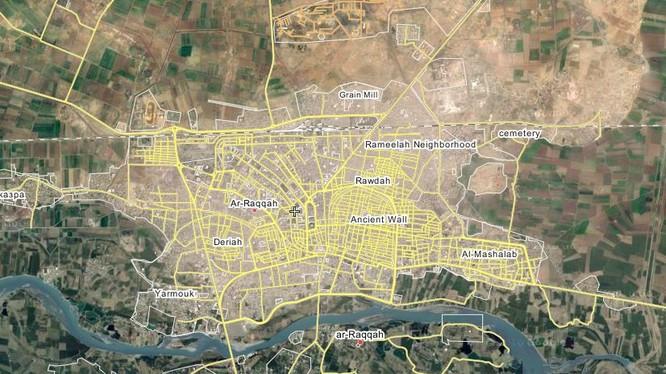 Người dân ở Raqqa nổi dậy giành được 5 khu phố
