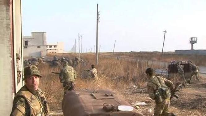 Trung đoàn đặc nhiệm số 48 đánh chiếm đỉnh núi Jabal Al-Qal'at