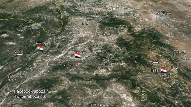 Quân đội Syria bao vây hoàn toàn thị trấn Kabani