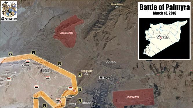 Quân đội Syria tấn công Palmyra, trận chiến sống còn của chế độ