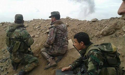 Lực lượng Tigers đánh chiếm 2 điểm chốt ở ngoại ô Palmyra